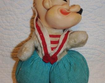 Plush Popeye Doll By Gund