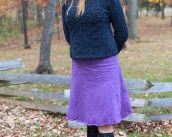 Winter Fleece A-line Skirt