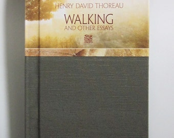 Henry David Thoreau, Walking and Other Essays, numbered, limited edition book