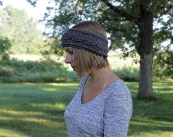 Women's Crochet Headband, Women's Hat, Earwarmer, Headband, Made to Order