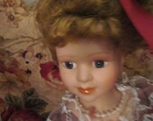 RESERVED-Haunted doll Marla, Spirit Doll, Paranormal,  Wierd, Ghost, Scary,  Bipolar, Active Spirit, Porcelain Doll, Metaphysical