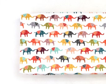Changing Pad Cover Colorful Elephants. Change Pad. Changing Pad. Elephant Changing Pad Cover. Changing Pad Boy.