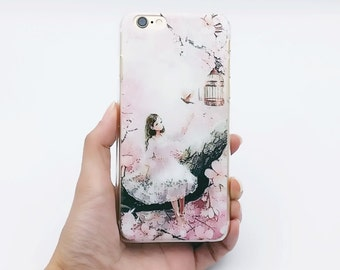 Little Girl iPhone 6 Case, iPhone 6s Case, iPhone 6, iPhone cover, iPhone case