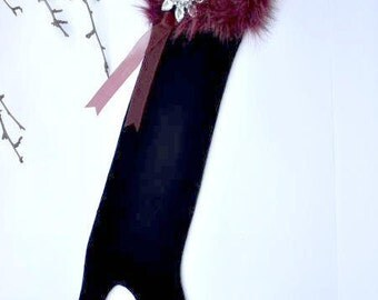 "Christmas Stocking ""Scarlet Empress"""