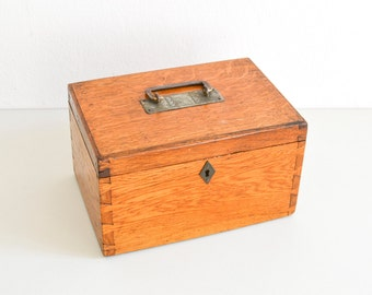 Wooden box, vintage trunk, jewelry box, storage box