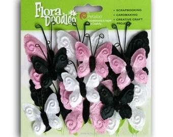 Velvet Butterflies - Petaloo