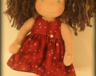 "A Waldorf inspired doll called Midge , 20""tall with extra clothing"