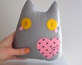 You are my heart cute kawaii cat plush