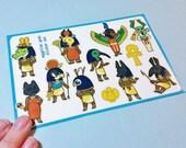 Egyptian Gods Sticker Sheet