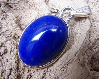 Lapis Lazuli Pendant - 28.46 Carat Royal Blue