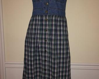 Vintage 90s maxi dress sz S