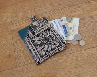 Small Legend of Zelda Link print zipper coin purse pouch