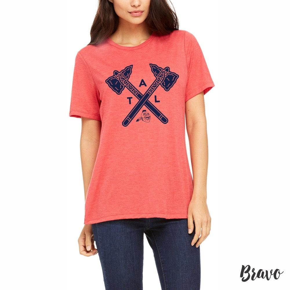 braves shirt atlanta braves women 39 s tee by. Black Bedroom Furniture Sets. Home Design Ideas