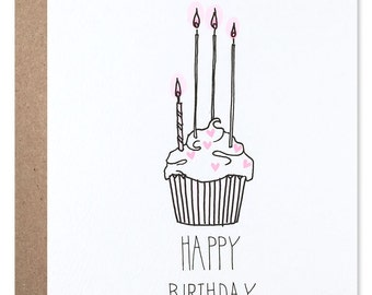 Heart Sprinkle Cupcake