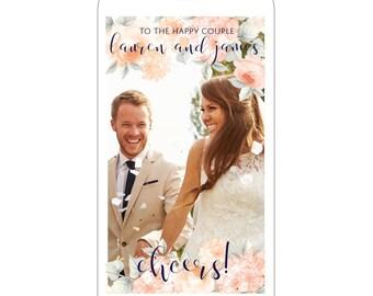 Custom Floral Wedding Snapchat Filter |  Wedding Snapchat GeoFilter |  Wedding Snapchat Geo Filter | Rustic Snapchat Geofilter