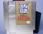 Vintage 1986 Nintendo Legend of Zelda Video Game in Working Condition