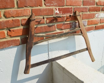 Vintage Double Handle Tree Saw/Hand Saw