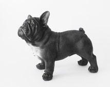 articles uniques correspondant bulldog statue etsy. Black Bedroom Furniture Sets. Home Design Ideas