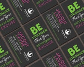 Herbalife Business Card | Be Stronger Than Your Strongest Excuse