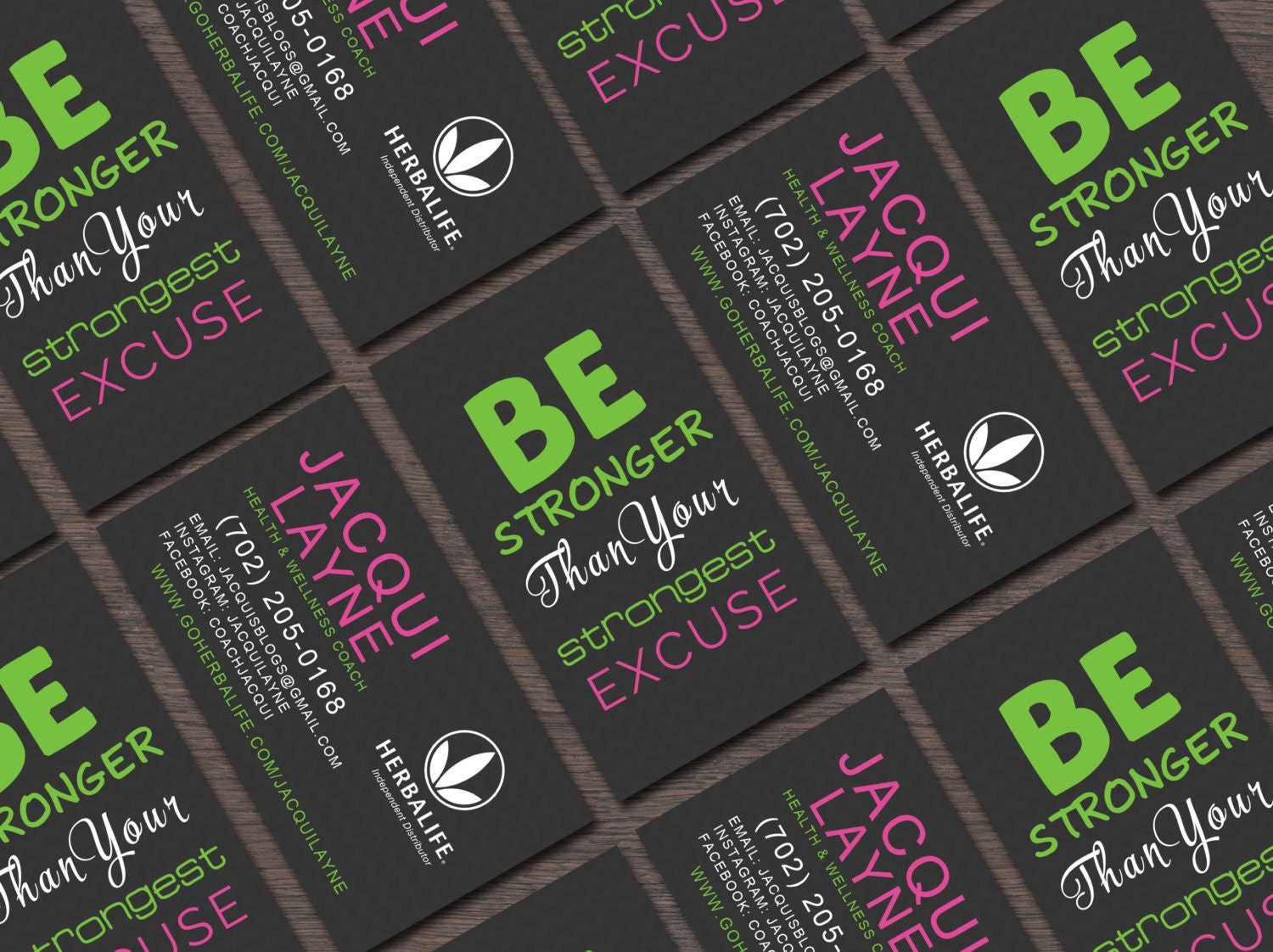 Herbalife Business Card Be Stronger Than by