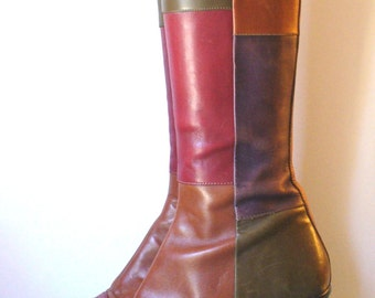 Vintage Made in Italy Bartoli Mod Boots Size 37.5 EU