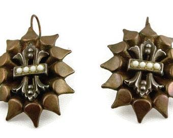 Vintage Bijoux Gas Parisian Earrings