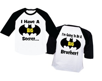 I'm Going to Be A Big Brother  on a Raglan Shirt