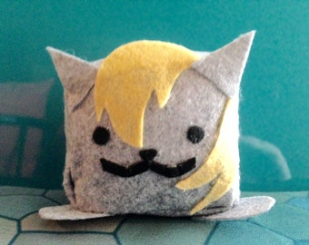 Derpy My Little Pony Neko Atsume Felt Cube Plushie