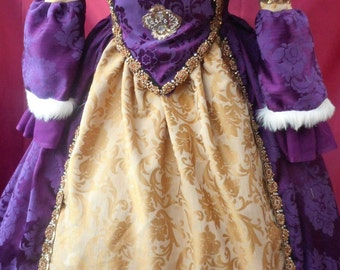 Custom made rennaisance Anne Bolyne Tudor queen princess stage party banquet faire reinactment custom made to your measurements