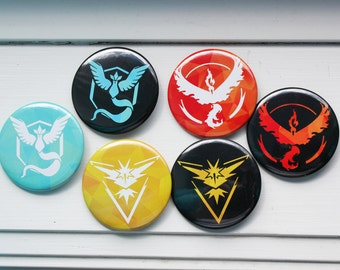 Pokemon GO Team Badges