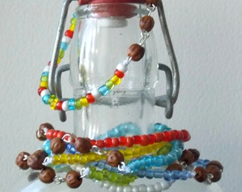 Colorful Seed Bracelets