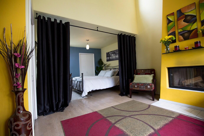premium heavyweight hanging room divider kits for rooms 3ft. Black Bedroom Furniture Sets. Home Design Ideas