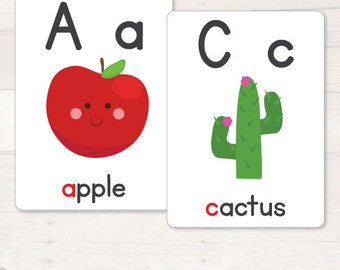 Printable Alphabet Flash Cards AUTOMATIC DOWNLOAD