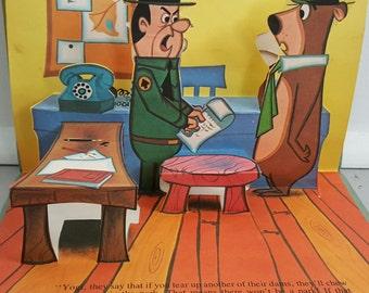 Yogi Bear Pop Up Book 1974