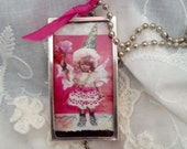 Darling Lil Fairy Girl Necklace