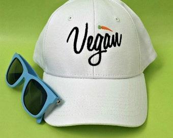 Vegan Baseball Hat