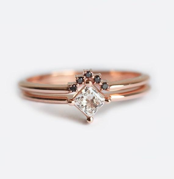 like this item - Dainty Wedding Rings