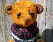 Teddy Bear Senya Retro style. artist bear
