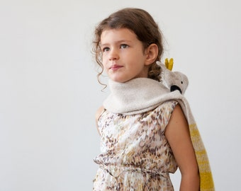 cockatoo scarf for kids, small parrot