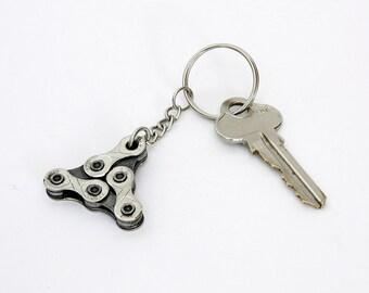 Bike Chain Keyring - Bike keychain, bike accessories, bicycle accessories, bicycle accessory, gift for him, engineering gift, cyclist gift