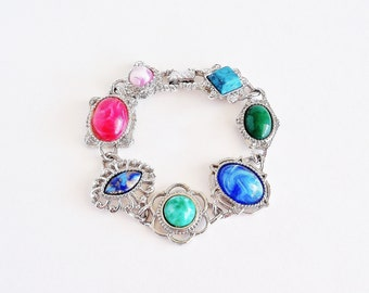SARAH COVENTRY Frolic Bold Colorful Bracelet