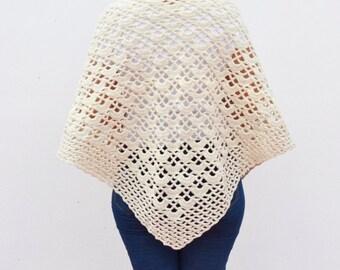 crocheted shawl for women