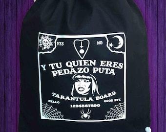 Drawstring Backpack Ouija La Veneno bag