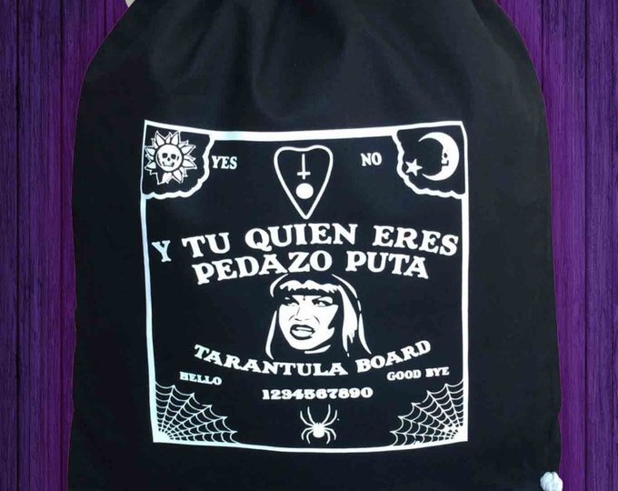Drawstring Backpack Ouija La Veneno bag