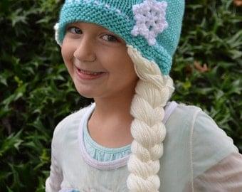 Elsa knit hat Etsy