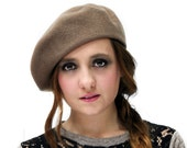 Wool beret - French inspired berets - Wool hat for her - winter warm hats