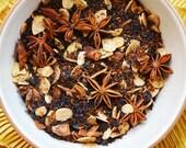 Loose Tea - Toasted Cookie Tea - Almond Anise Tea - Foodie Gift - Rooibos - Loose Leaf Black Tea - Flavored Tea - Tea Lovers - Winter - Tea