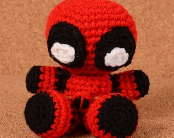 Deadpool Marvel Crochet Toy Doll