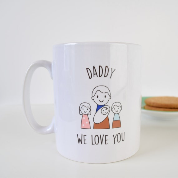 Daddy Mug - Father's Day Mug - Personalised Mug - Father's Day Gift