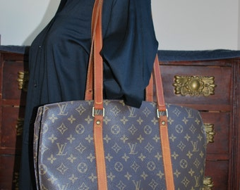 Louis Vuitton Babylone Tote / Shoulder Bag with zip top and dust bag